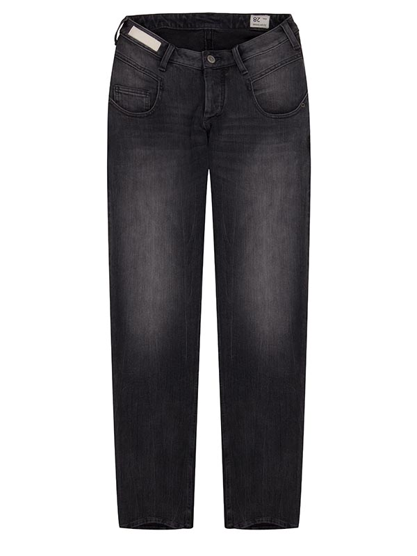 Web-Women-Carrot-Regular Fit - Denim Black 4
