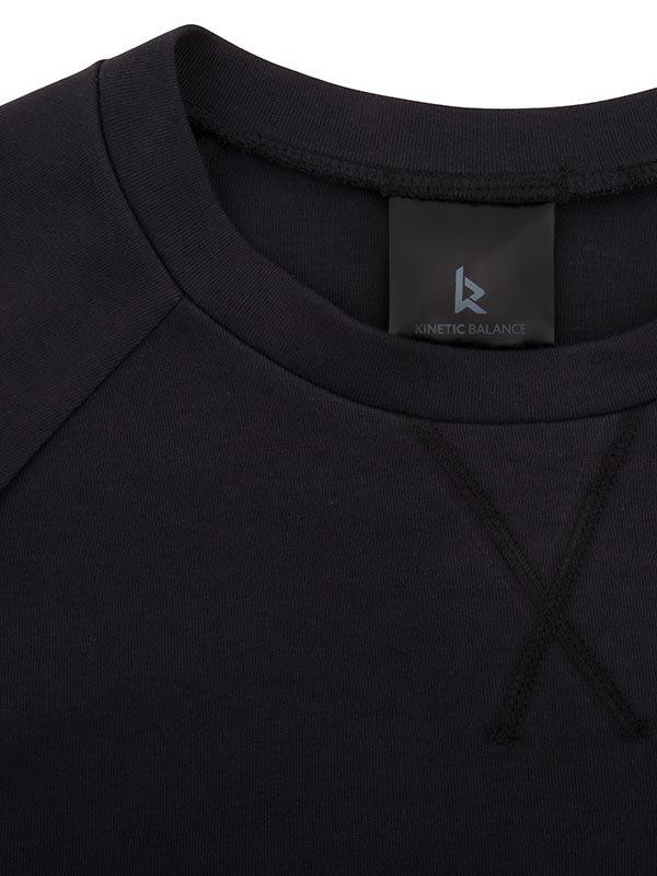 Kangaroo Pullover | Black